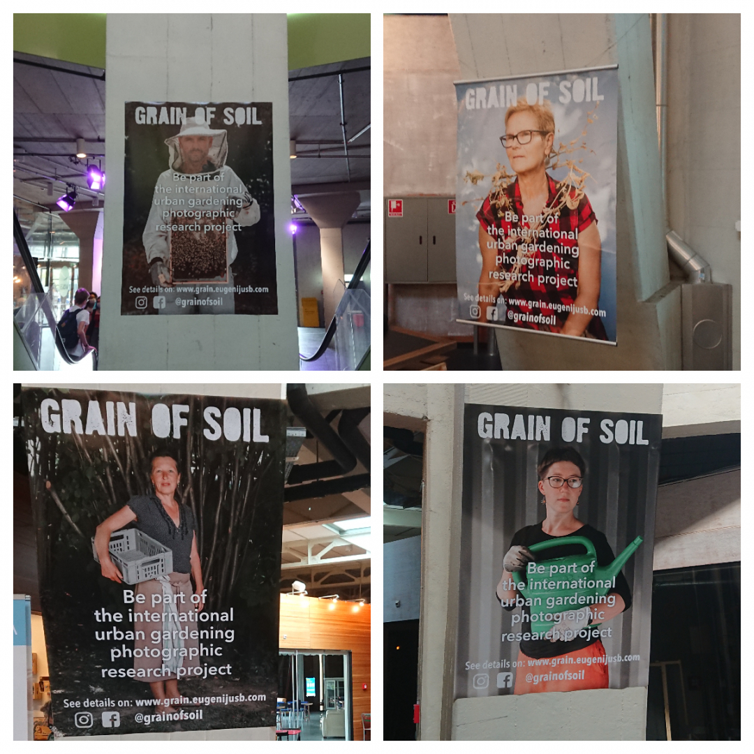 "Projekt ""Grain of Soil"" an der Genusswoche Basel in der Markthalle"